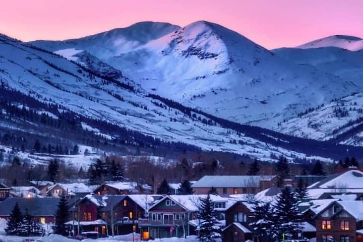Our Crested Butte Red Lady Home!