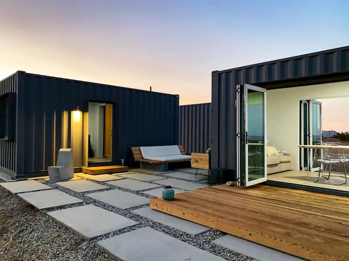 Orion House JT: Secluded Designer Container Home