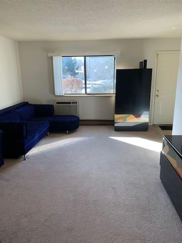 Living room Sofa-bed sleeper 1
