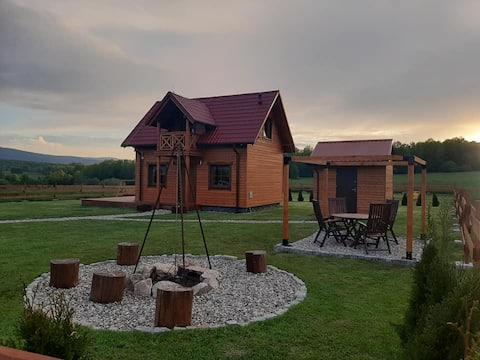 Widogruszka- Klimatyczny dom z kominkiem w Górach
