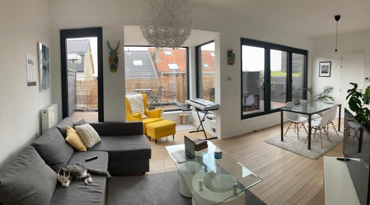 Superbe appartement avec terrasse dans Bruxelles
