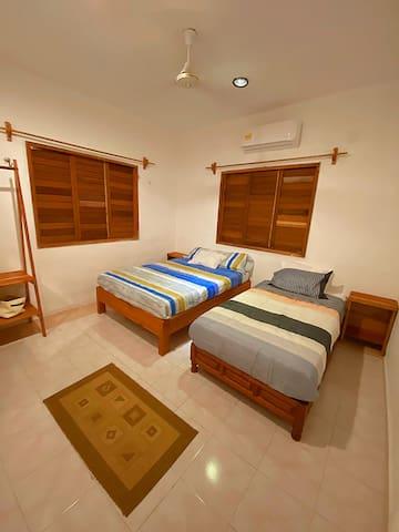 Our memory-foam mattresses guarantee better sleep.