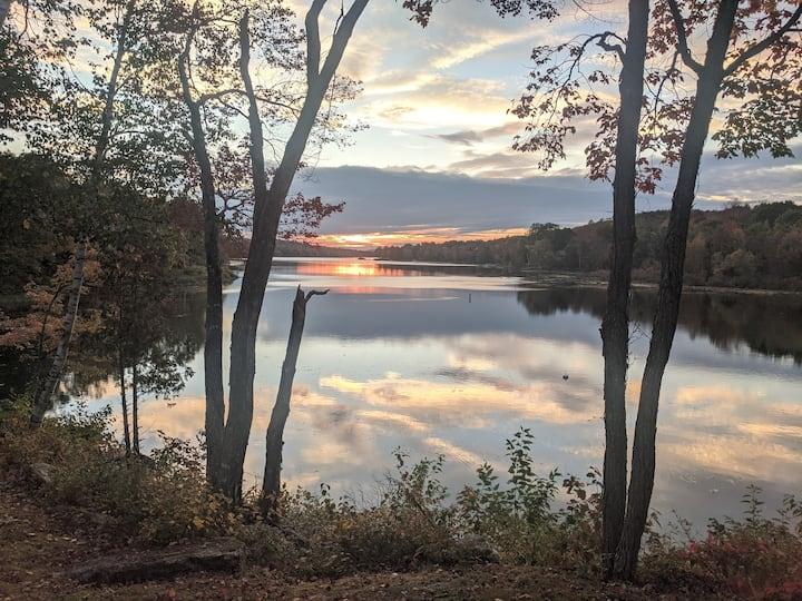 Cozy Condo on Sebec Lake in Maine + Fast Internet