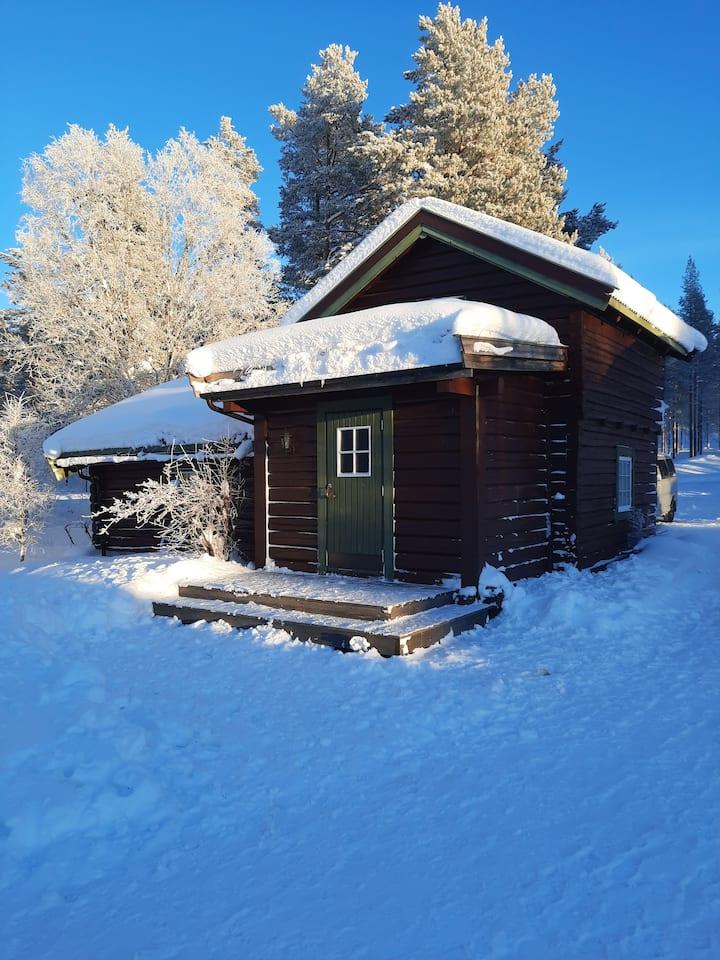 Sjarmerende hytte i Femundsundet
