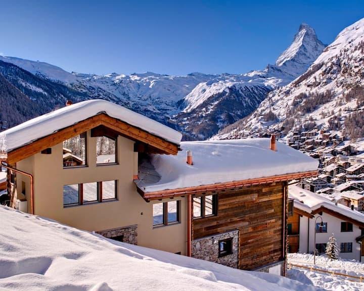 Best location chalet in Zermatt & sauna