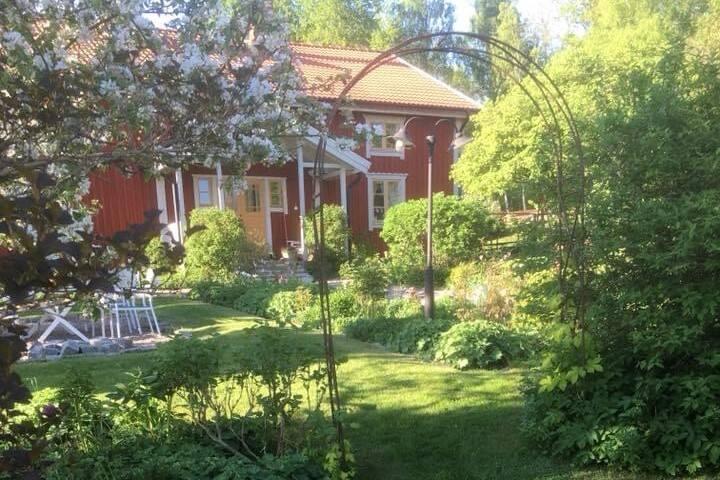 """Egen villa med gym i """"Sveriges trädgård"""""""