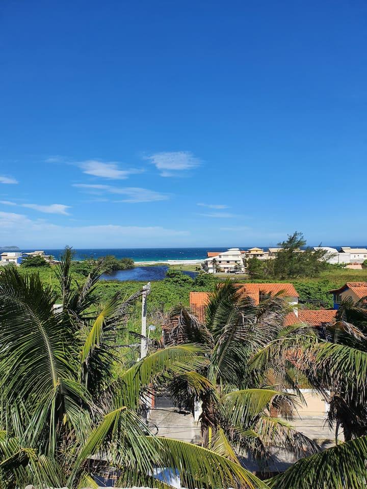 apartamentos a 100 metros da Praia  do foguete.