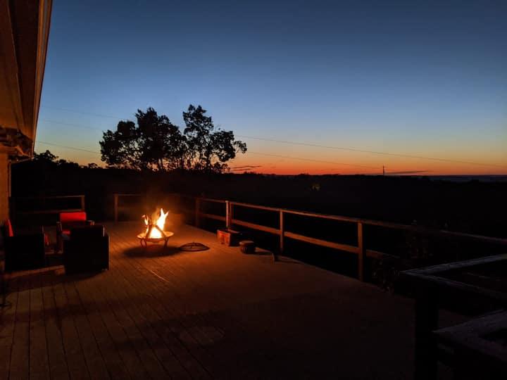 *Stargazer Ranch House Haven*Amazing Views*