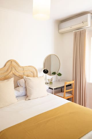 Bedroom 1 with air-conditioning