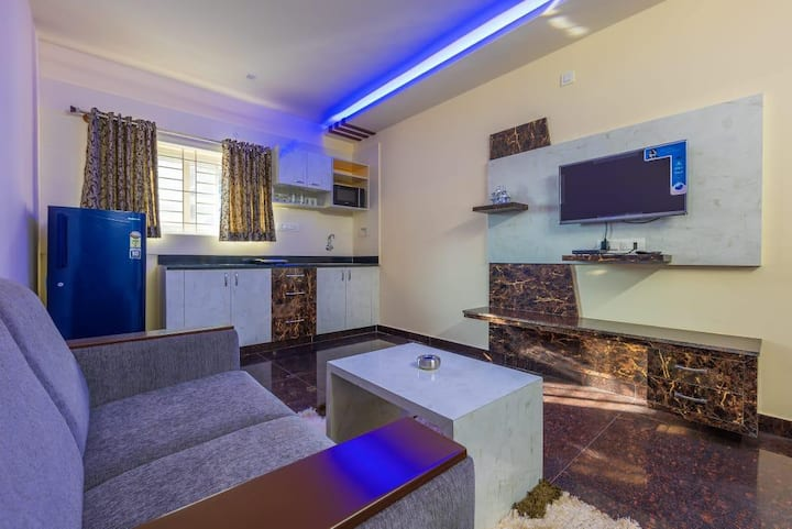 SREEJA  1BHK BOUTIQUE HOME3 🏠(Double Occupancy)