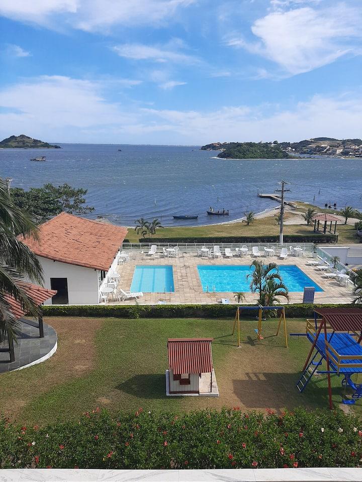 Vista panorâmica na Região dos Lagos