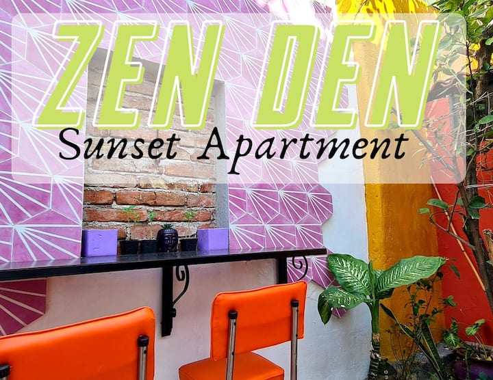 ZEN Den --->Sunset Apartment