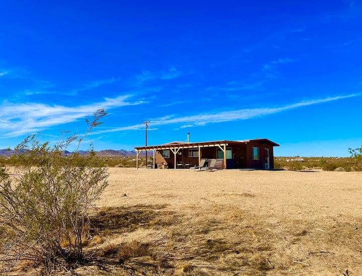 Spy Mountain Hideout |  Private Desert Getaway