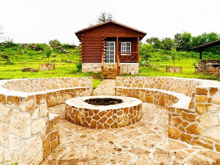 Hermosa casa de madera en el Valle de Querétaro