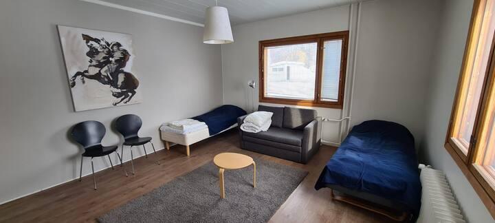 Kotimaailma Furnished Apartment, nice studio