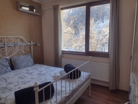 Double room with a view, 10min walk to Etar
