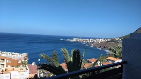 Впечатляющий вид на океан. Серфинг/поход/отдых @ Tenerife