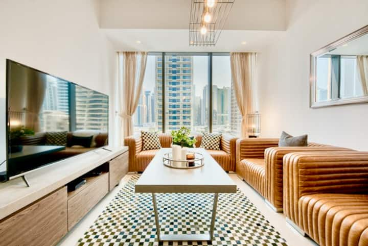 Executive 1 BR   Luxury Interior   Dubai Marina