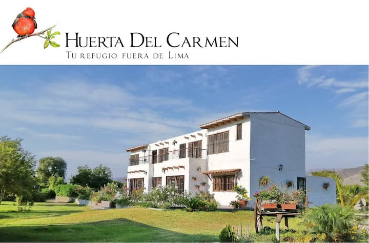 Huerta del Carmen,  tu refugio fuera de Lima.