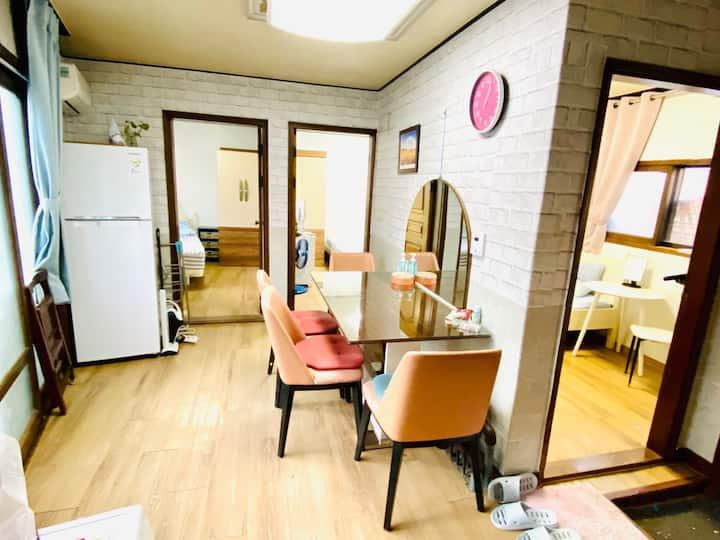 3BR Entire Home,3-4Staying near Seoul Stn, Ewha U