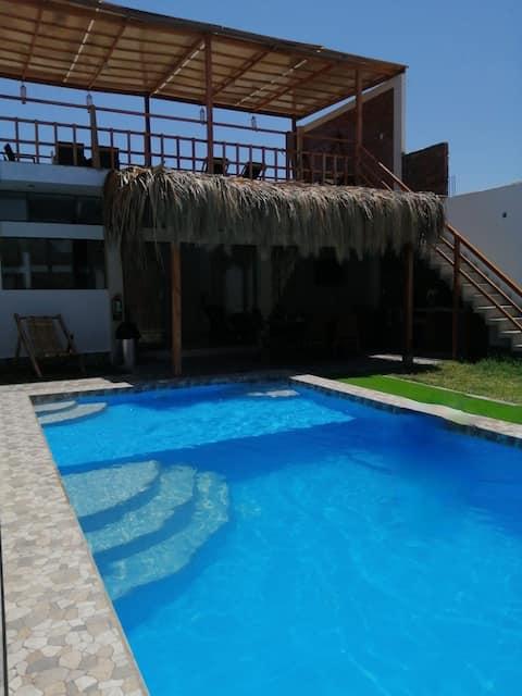Casa de praia bonita em Los Organos, Piura