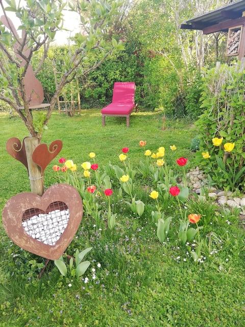 Charmantes Bürgerhaus mit Garten