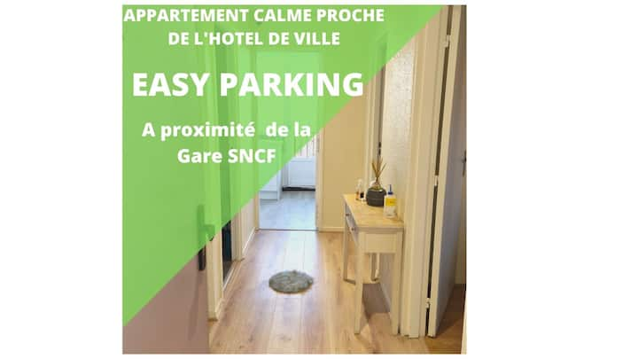 Proche centre-ville-Clinique pasteur-Hotelde-ville