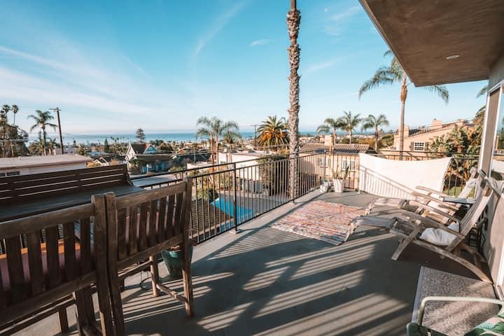 2-Bdr Ventura Ocean View Home with Gym & Gameroom