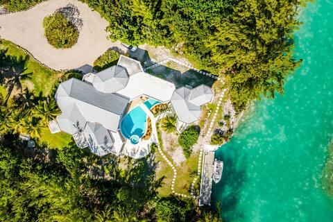 2BR Waterfront Villa- Piccolo Ponte+Sups+Pool+ BBQ