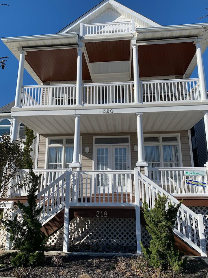 Ocean City NJ great location, re modeled 2020