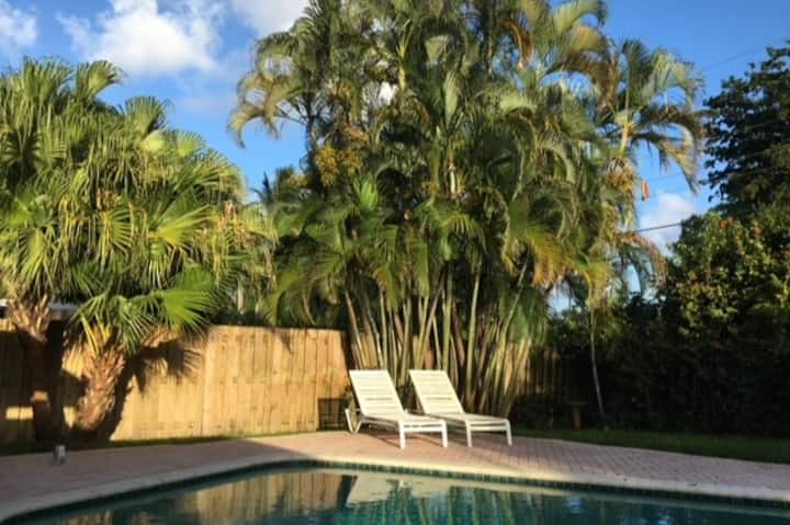 Poolside Wilton Manors