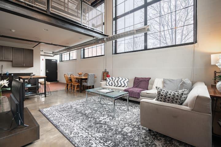 Historic WB Factory Loft -Short North/Free Parking