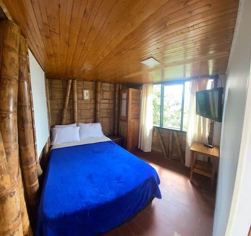Foto de la habitación 6, una de las posibles para el alojamiento.