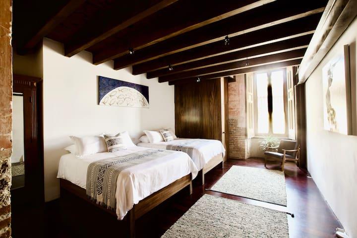 Bedroom 2 with two Queen beds