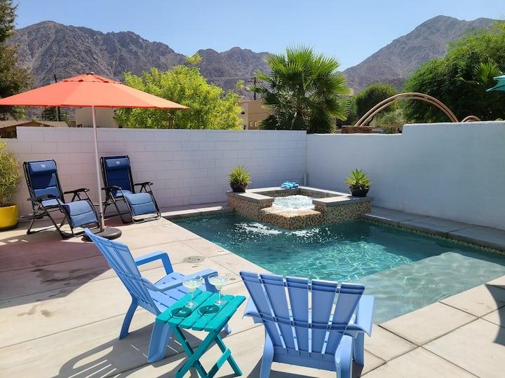 Desert Modern in La Quinta: Pool, spa w/ mtn views