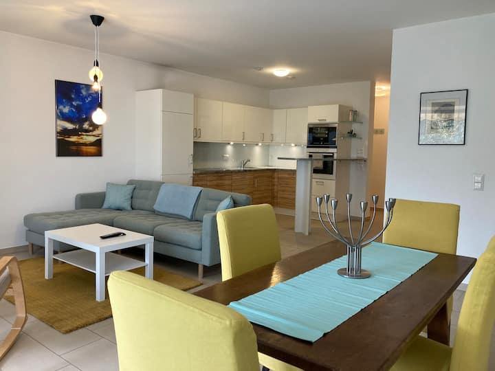 Appartement duplex avec jardin et terrasse