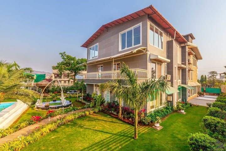 Ayurkutir Villa 9BR-DISINFECTED BEFORE EVERY STAY