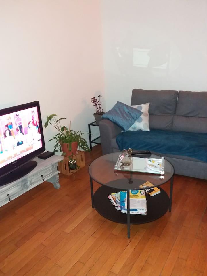 Loue chambre individuelle dans logement coquet