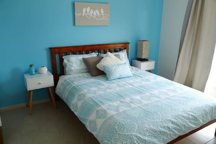 Bedroom 2 - The blue room.