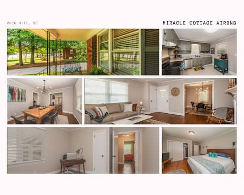 Miracle Cottage on Cherry- Mins to Winthrop Campus