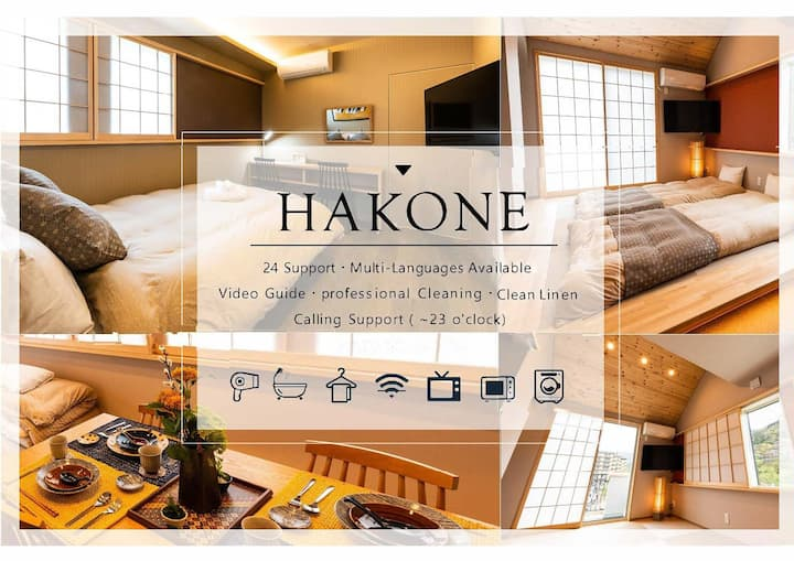 Newly built|Sta 8 min|Onsen discount|7PPL|53㎡|Wifi