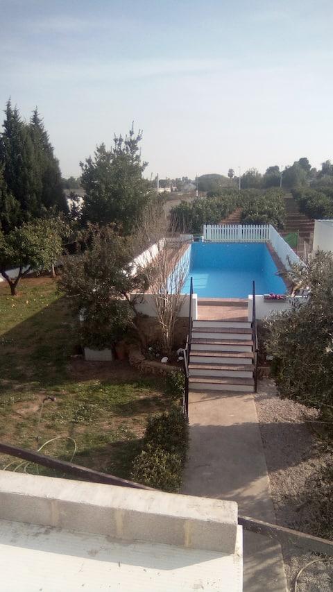 Grande villa familiare privata ideale per famiglie