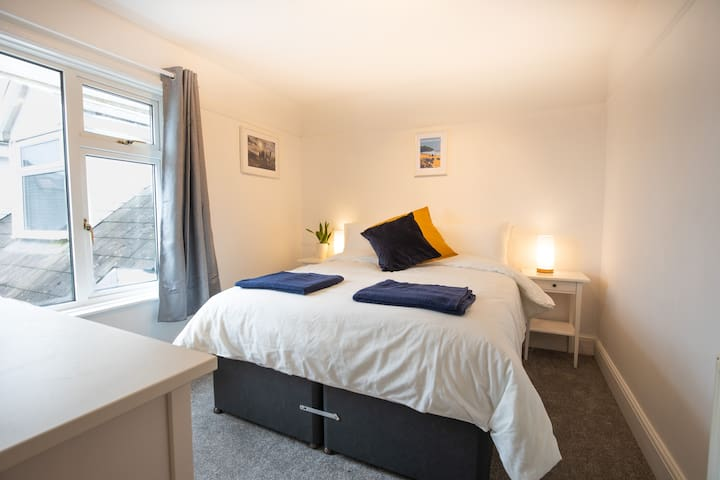 Bedroom 2 - configured as a King size double. The mattresses zip together and the bases link together, making a comfortable double.