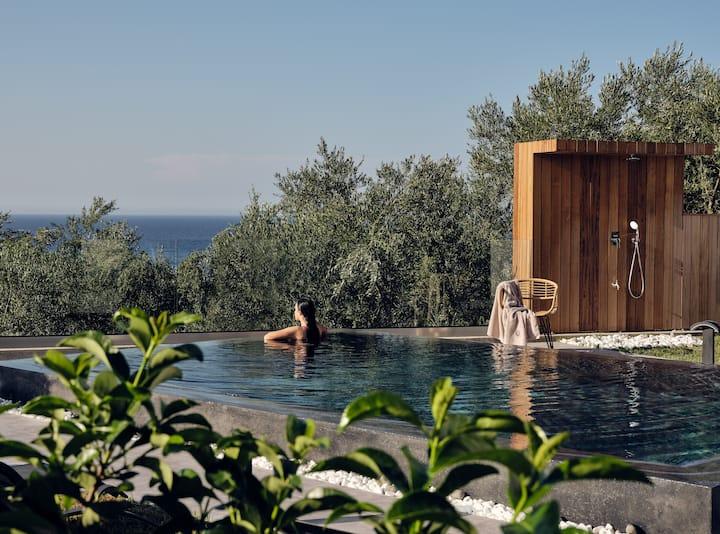Alexandros Deluxe SeaView Villa an Iconic Retreat