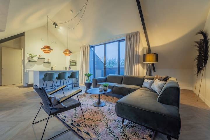 Slapen in een luxe LOFT (4 persoons) op de Veluwe