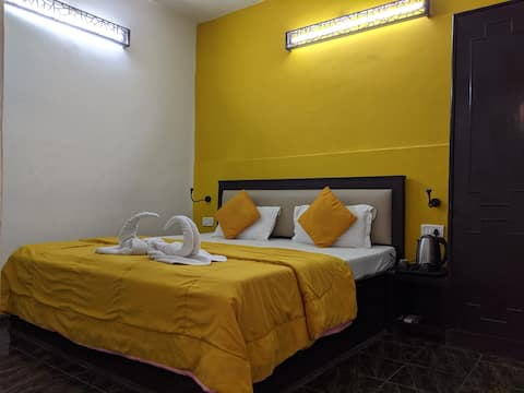 Chambre privée confortable à distance de marche de Taj