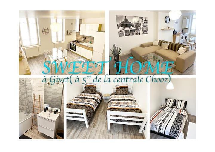 Appartement neuf idéal travail/ vacances