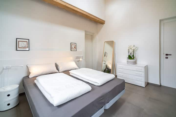 Double room at Navitas Coliving