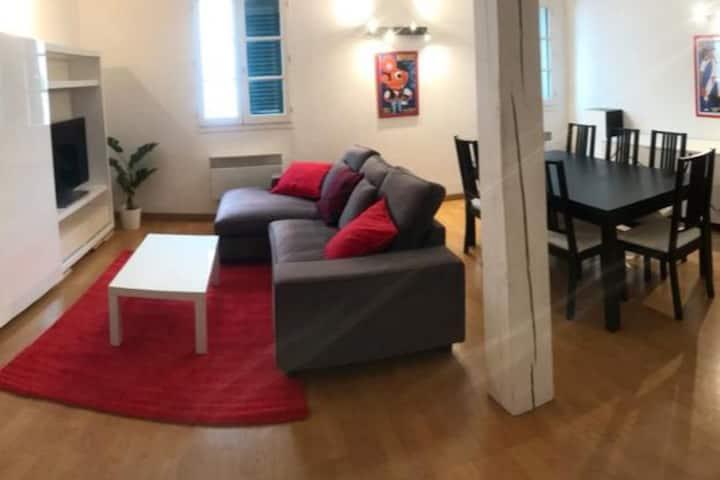 appartement 3 chambres 76m2 centre historique