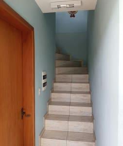 Liga na chave antes de subir escada